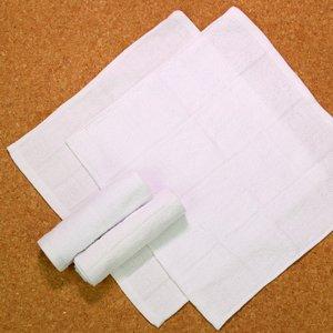 8×8(70匁)業務用白格子おしぼり